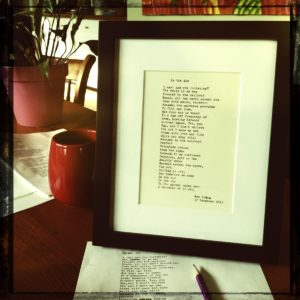 Framed Demand Poetry, and the tools to make it