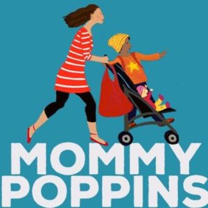 Mommy Poppins Logo _ Elizabeth Howard