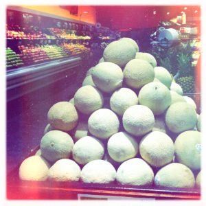 Cantaloupes from Honduras by E. Howard on Hipstamatic