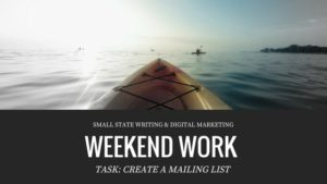 Create a Mailing List Using MailChimp